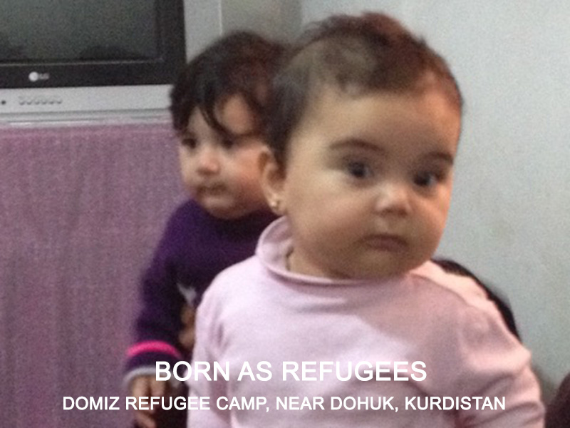 Born as refugees