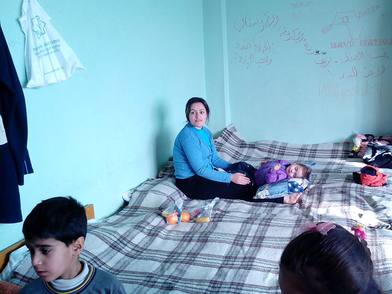 Iraqi/Syrian refugee accommodations in Bulgaria