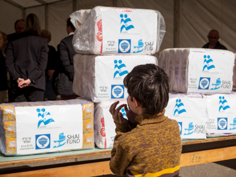 Shai Fund Aid being delivered to Syrian/Iraqi refugees in Bulgaria
