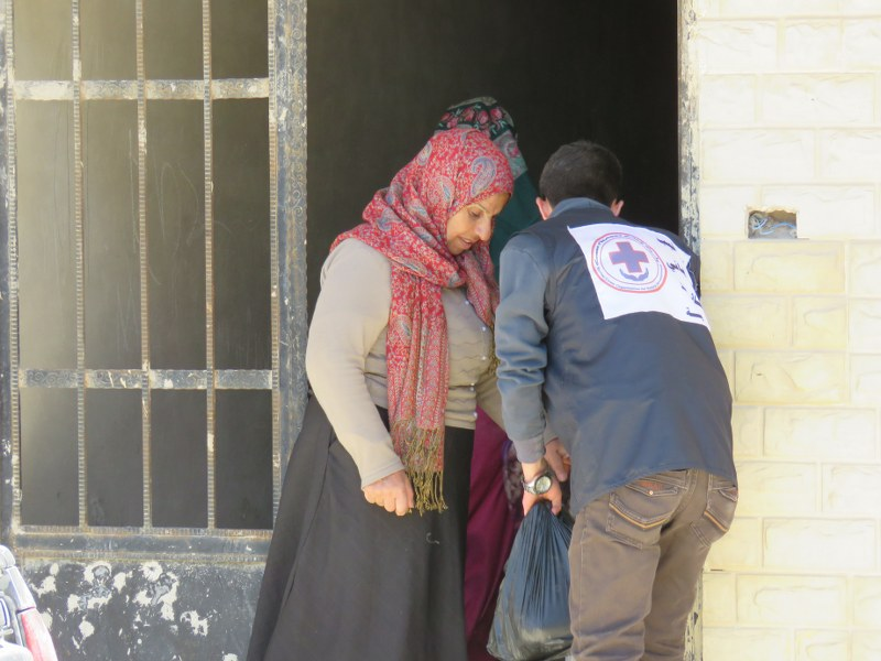Afrin Aid for Displaced in Kobana