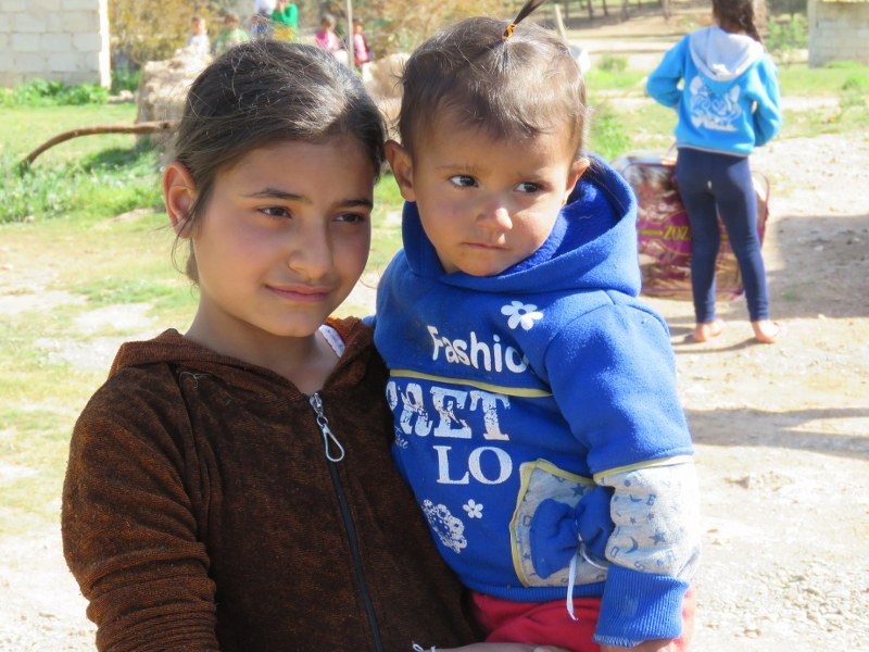 Afrin Children Receive Aid