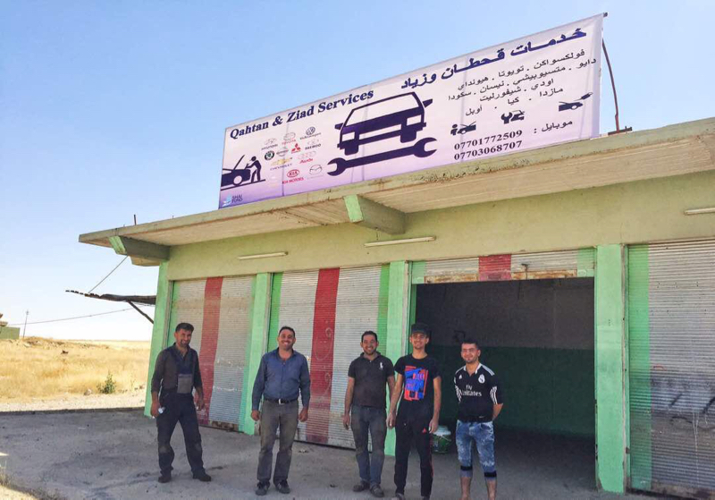 Mechanic Shop Qaragosh, Nineveh Plains