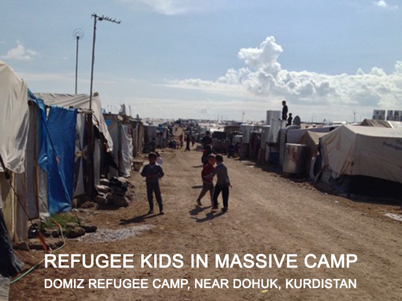 Refugee kids