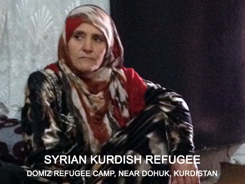 Syrian Kurdish Refugee