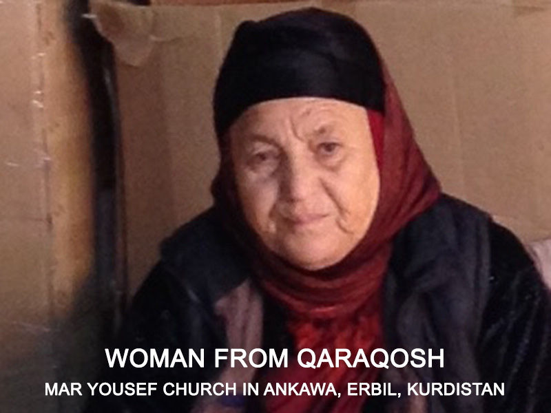 Woman from Qaraqosh